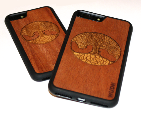Building a laser-engraved wooden phone case from scratch