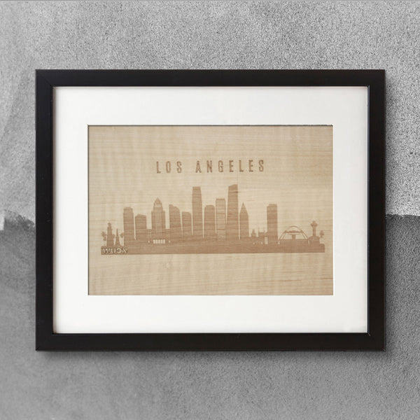 CityScape City Skyline Wooden Wall Art Collection