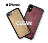Wooden iPhone Cases in Purpleheart & Curly Maple by WUDN