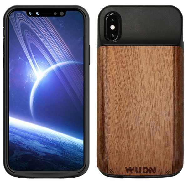 WUDN Wood Wooden iPhone X Battery Charging Case