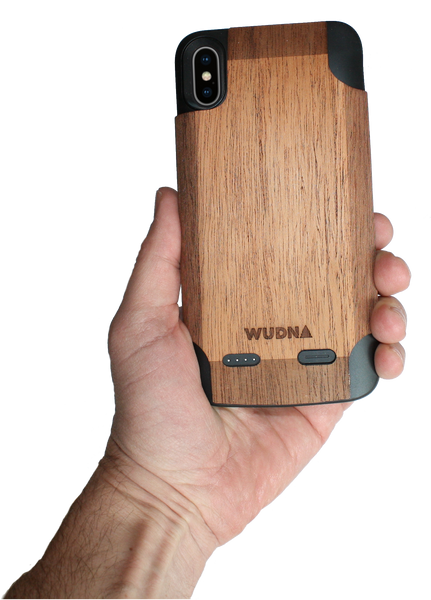Wood battery case iphone xs Max, wooden battery case iphone xs max, mahogany battery case iphone xs Max, walnut battery case iphone xs Max, bamboo battery case iphone Xs Max, cedar battery case iphone xs max