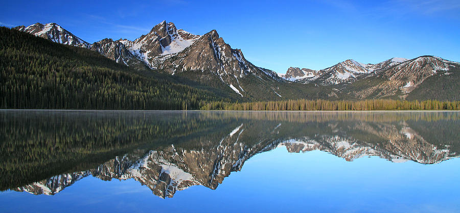 Sawtooth Mountain in Idaho