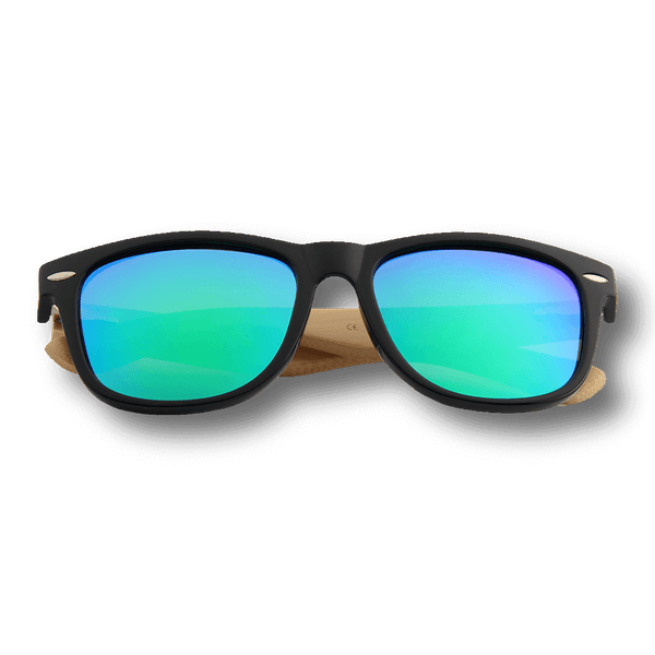 Real Bamboo Wood Wanderer Style Sunglasses by WUDN, Sunglasses - WUDN