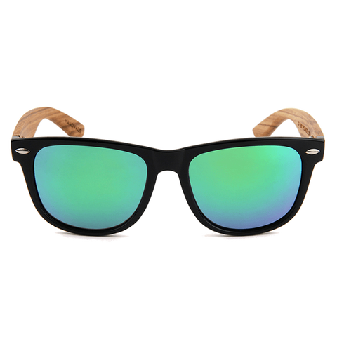 Mens & Women's Zebra Wood Wanderer Sunglasses