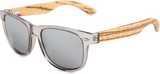Real Zebra Wood Wanderer Sunglasses by WUDN, Sunglasses - WUDN