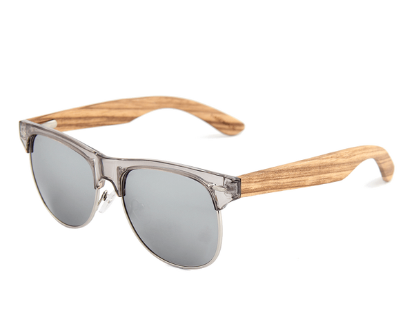 Mens & Women's Zebra Wood, RetroShade Sunglasses