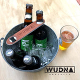 Customizable Industrial Wood Bottle Opener