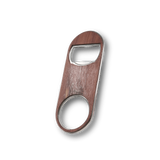 Customizable Keychain Wood Bottle Opener