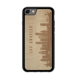CityScape Wooden Phone Case | Los Angeles CA, Cases - WUDN