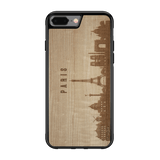 CityScape Wooden Phone Case | Paris France, Cases - WUDN