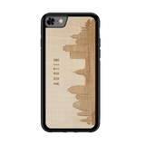 CityScape Wooden Phone Case | Austin TX, Cases - WUDN