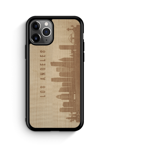 CityScape Wooden Phone Case | Los Angeles CA