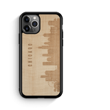 CityScape Wooden Phone Case (Chicago IL Skyline)