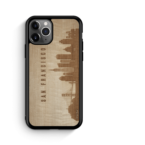 CityScape Wooden Phone Case | San Francisco CA, Cases - WUDN