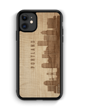 CityScape Wooden Phone Case | Portland OR, Cases - WUDN