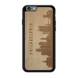 CityScape Wooden Phone Case | Philadelphia PA, Cases - WUDN