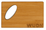 Customizable Wooden Credit Card Bottle Opener