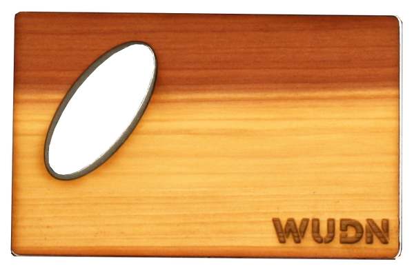 Wooden Credit Card Bottle Opener | Handcrafted WUDN