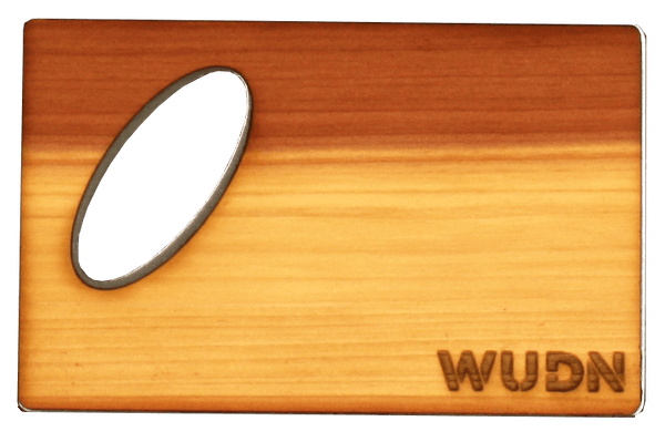 Customizable Wooden Credit Card Bottle Opener, Bar - WUDN
