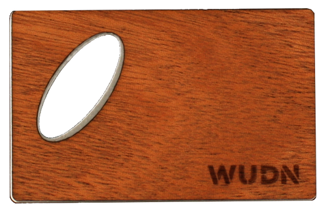 Wooden Credit Card Bottle Opener | Handcrafted WUDN, Bar - WUDN