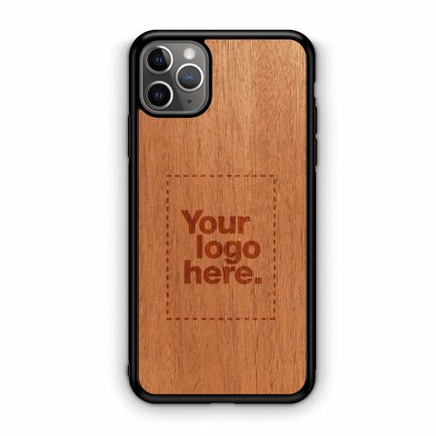 Custom Wood iPhone 11 Pro Max Case 6.5""