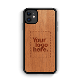 "Custom Wood iPhone 11 Case 6.1"", Cases - WUDN"