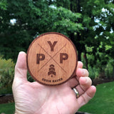 Distributor Self-Promo Sticker Special (100 Real Wood Stickers), Wholesale - WUDN
