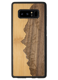 Slim Wooden Phone Case | Sawtooth Mountains Traveler, Cases by WUDN for Galaxy Note 8