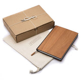Handcrafted Custom Wood Journal - Locally Sourced Wood - WUDN - 2