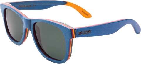 Mens & Women's Recycled Skatedeck, Escalator Sunglasses