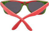 Recycled Skatedeck Bluntslide Red Sunglasses by WUDN, Sunglasses - WUDN