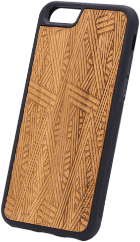 Ultra-Slim Wooden iPhone Case | Aztec