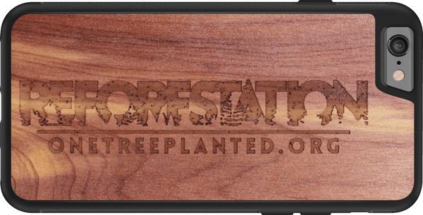 Limited Edition REFORESTATION Wood Phone Case | This Phone Case Plants One Tree