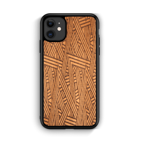 Slim Wooden Phone Case | Aztec