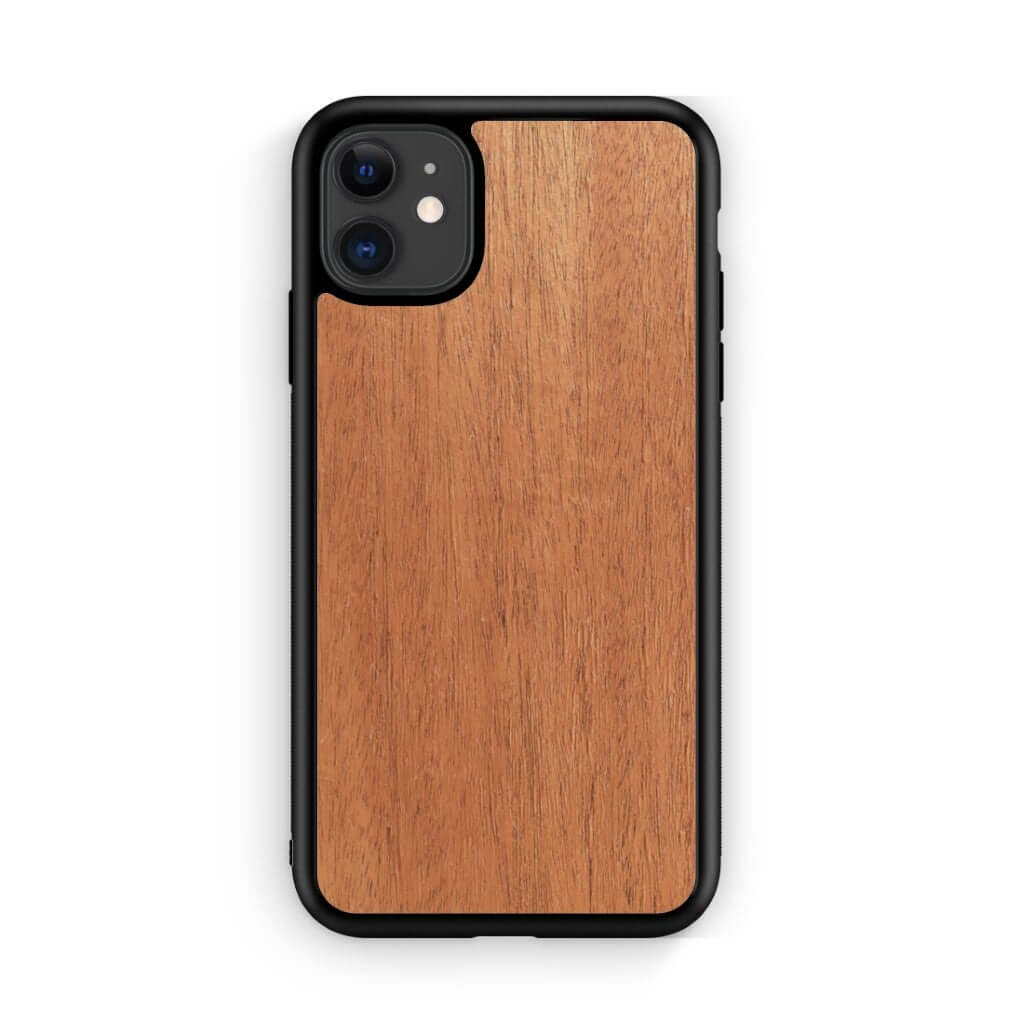 Custom Wood iPhone 11 Case 6.1""