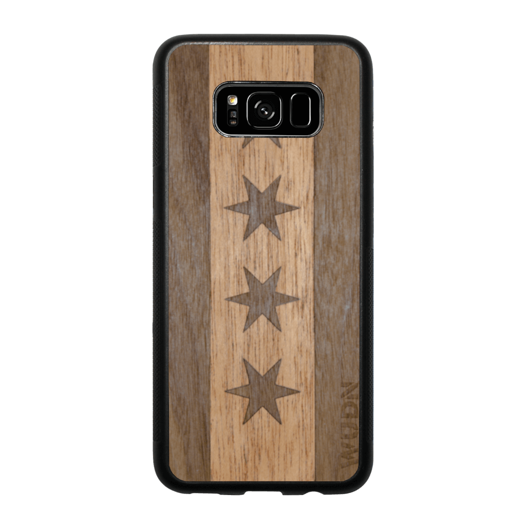 Slim Wooden Phone Case | Chicago Traveler, Cases - WUDN