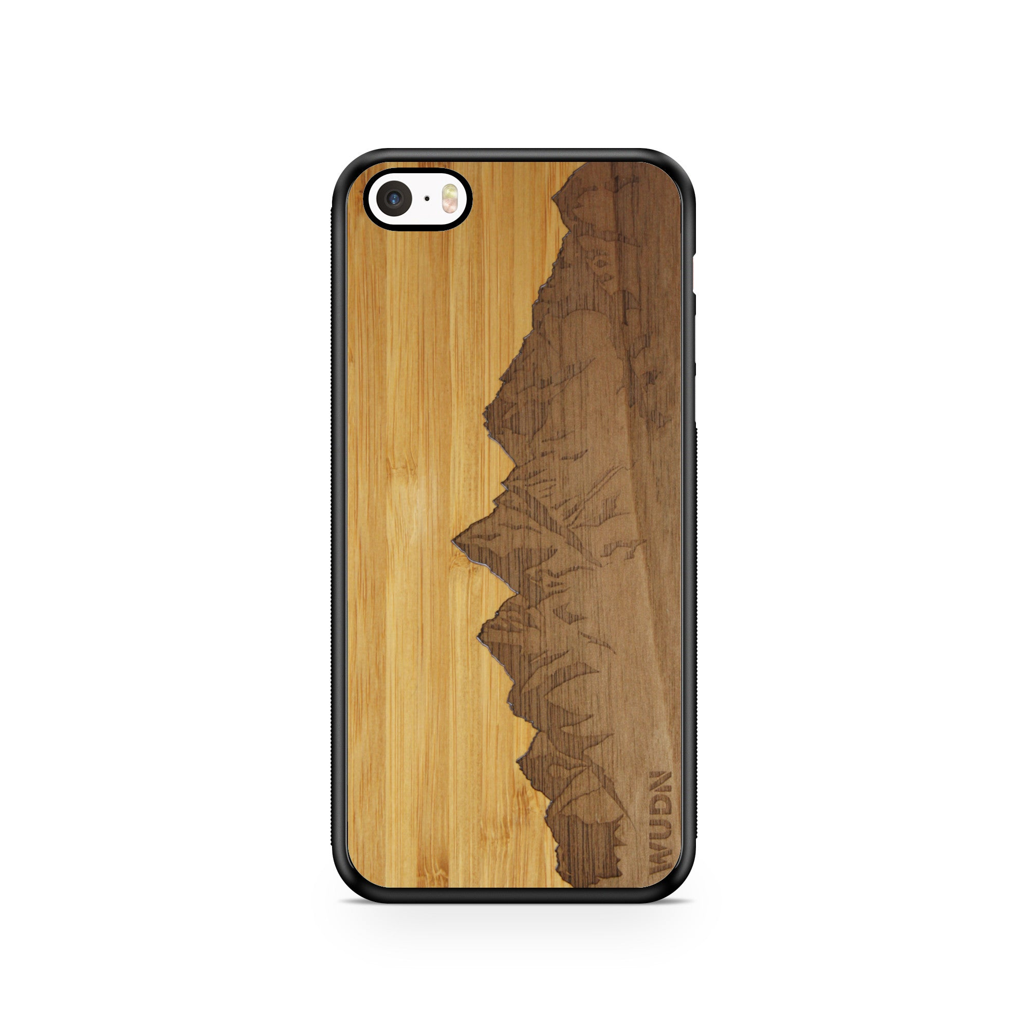 Slim Wooden Phone Case | Sawtooth Mountains Traveler, Cases by WUDN