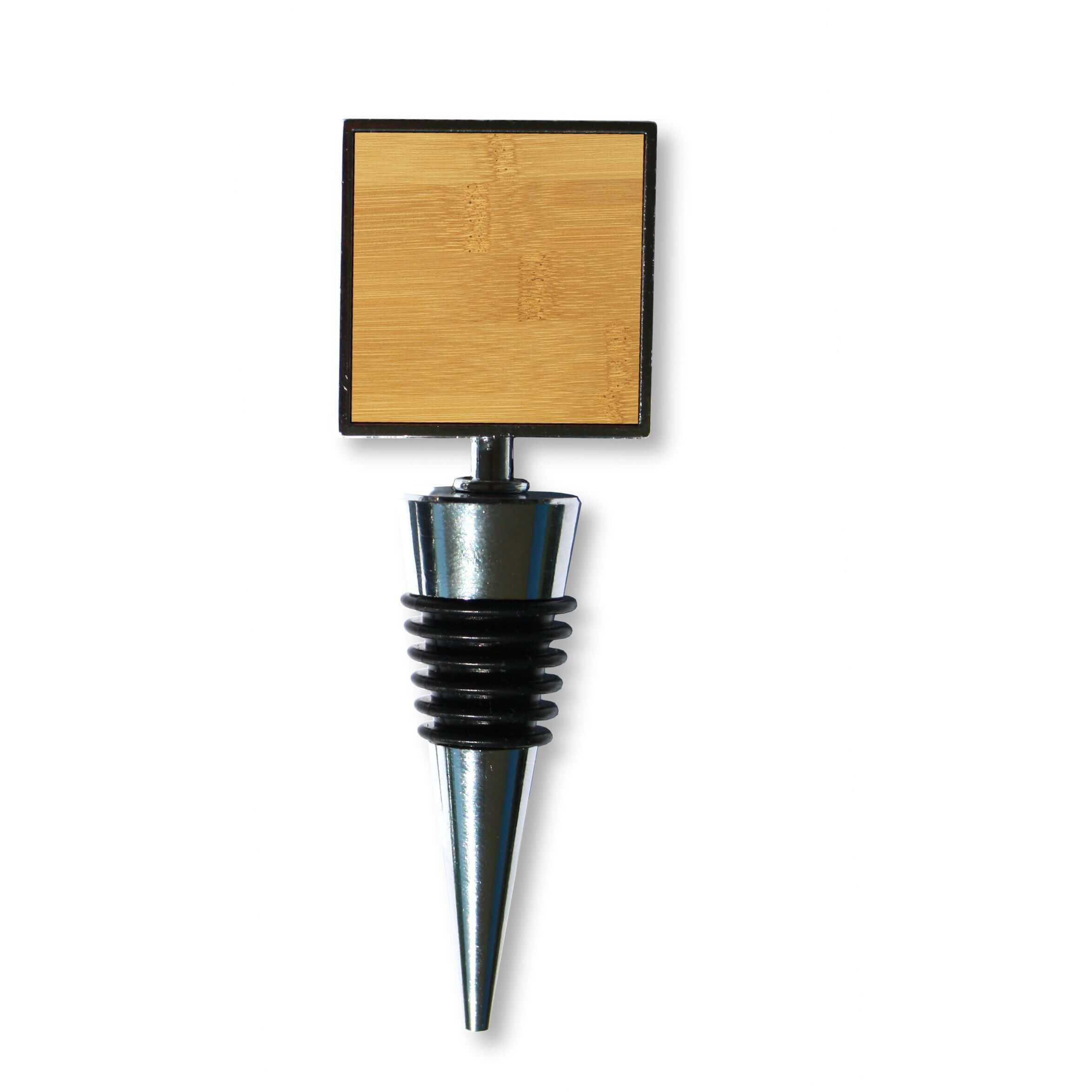 Customizable Wine Bottle Stopper (Square)