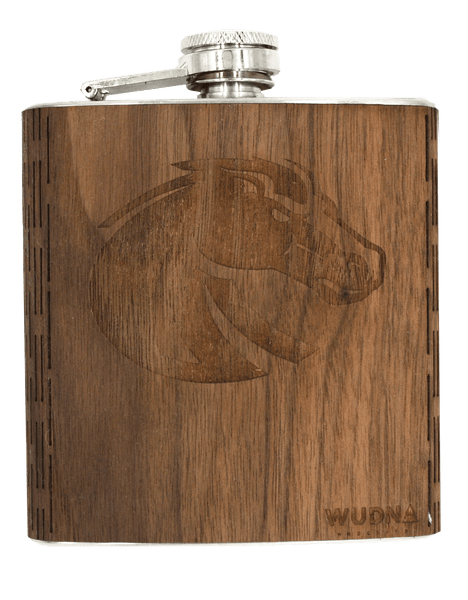 Wooden Hip Flask