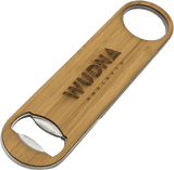 Customizable Industrial Wood Bottle Opener - 4