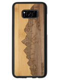 Slim Wooden Phone Case | Sawtooth Mountains Traveler, Cases by WUDN for Galaxy  S8 Plus