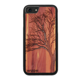 Slim Wooden Phone Case | Winter Tree