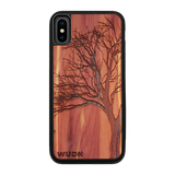 Slim Wooden Phone Case | Winter Tree, Cases - WUDN