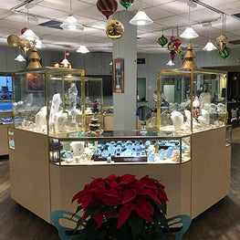 WUDN Retail Partner Ecolin Jewelers at 14 East Broadway, Port Jefferson, NY 11777