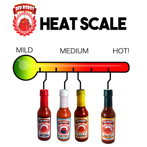 Red Robot Heat Scale