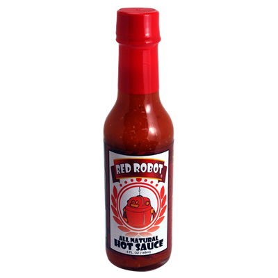 Red Robot Classic Hot Sauce - All Natural Mild Jalapeno - 5 oz