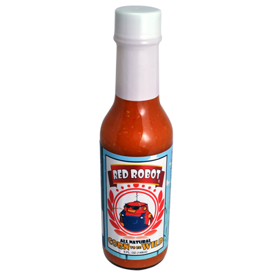 Red Robot Corn To Be Wild Hot Sauce - 5 oz