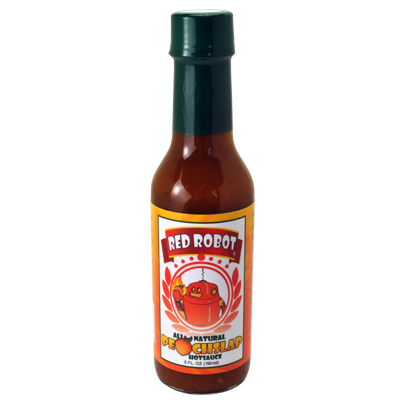 Red Robot Peach Slap Hot Sauce - 5 oz