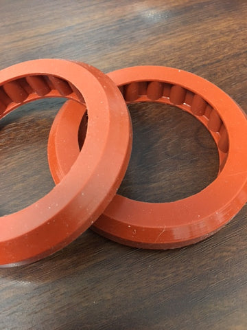 "Custom Molded Gasket; 3/16"" Roller; Silicone Material"