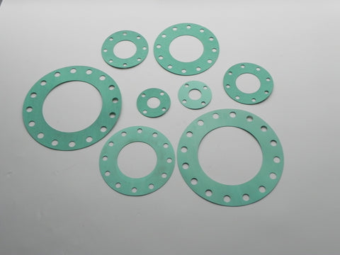 "Full Face Gasket; Class 125; 1/8"" Thick Non-asbestos Material"